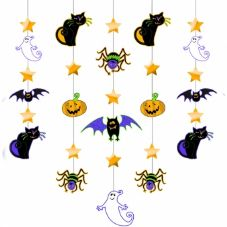 Halloween Hanging Glitter Decoration